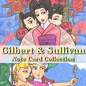 Visit the Gilbert and Sullivan Note Card Collection on Etsy!